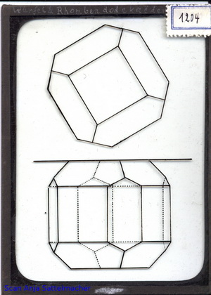 Slide: Cube and rhombus dodecahedron