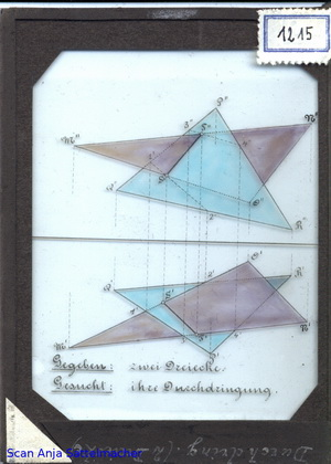 Slide: Penetration of two triangles