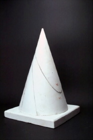 Circular cone with all types of conic sections