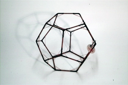 Dodecahedron with inscribed truncated dodecahedron