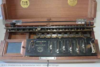 Calculating machine Burkhardt-Arithmometer