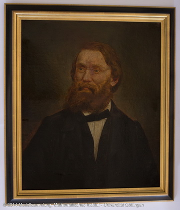 Painting of Alfred Clebsch